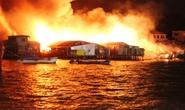 Cháy lớn thiêu rụi khoảng 40 căn nhà