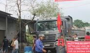 Người dân Đồng Nai chặn xe ben phá đường