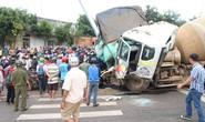 Tai nạn do xe bồn mất thắng tại đèn đỏ, nhiều người thương vong
