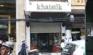 Kiểm tra đột xuất cửa hàng Khaisilk: Có dấu hiệu gian lận thương mại