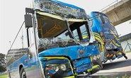 VĐV Myanmar bị thương do tai nạn xe bus