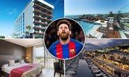 Học Ronaldo, Messi cũng kinh doanh khách sạn