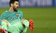 Messi không 1 lần chạm bóng trong vòng 16,5 m của PSG