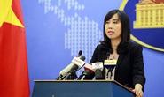 Người phát ngôn lên tiếng về việc tàu sân bay Mỹ thăm Việt Nam