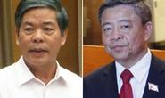 Kỷ luật cảnh cáo nguyên Bộ trưởng Nguyễn Minh Quang và ông Võ Kim Cự
