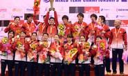 Chưa tung HCV Olympic, Nhật vẫn vô địch cầu lông châu Á