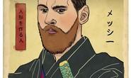 Messi, Ronaldo, Ibra hóa chiến binh samurai