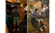 Diễn viên TVB bị xe tông khi đang quay phim