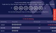 Trúng vé số Vietlott 31 tỉ đồng