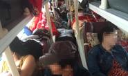 Hành khách bị nhồi nhét cầu cứu CSGT