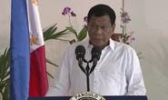 Ông Duterte: Philippines không thể ngăn chặn Trung Quốc