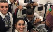 Bất ngờ sinh con trên máy bay ở độ cao gần 13 km