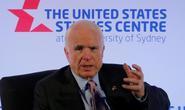Ông McCain: Trung Quốc hành xử giống kẻ bắt nạt ở biển Đông