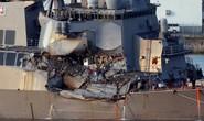 Vụ khu trục hạm Mỹ va tàu container: Phát hiện thi thể 7 thủy thủ