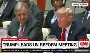 Ông Donald Trump lại chê Liên Hiệp Quốc
