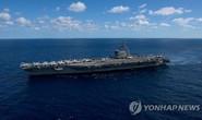 Tàu Trung Quốc bám đuôi tàu sân bay Mỹ ở biển Đông