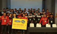 VPMilk tặng U20 Việt Nam 100 triệu sát thềm World Cup