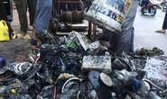 Dọn sạch rác đường Nguyễn Hữu Cảnh cho máy bơm chống ngập