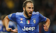 Cú đúp của Higuain định đoạt trận Monaco – Juventus