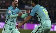 Suarez và Messi lập siêu phẩm, Barcelona hạ đẹp Atletico Madrid
