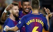 Siêu nhân Messi đánh poker, Barcelona thắng đậm Eibar