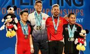 Thạch Kim Tuấn vô địch cử tạ thế giới hạng 56kg