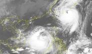 Bão số 10 vào Biển Đông song hành cùng siêu bão Talim