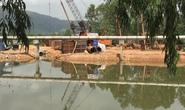Bình Định: Một nhà thầu tự ý ngăn sông