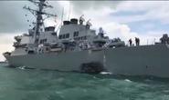 Tàu chiến Mỹ va chạm do lỗi con người?