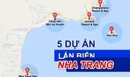 [Infographic] Toàn cảnh 5 dự án lấn vịnh Nha Trang