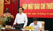 Clip Thứ trưởng Trần Anh Tuấn nói bổ nhiệm ông Lê Phước Hoài Bảo đúng quy trình