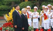 Bắn 21 loạt đại bác chào mừng Tổng Bí thư, Chủ tịch Tập Cận Bình