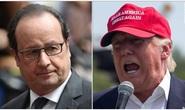 Pháp khó chịu khi ông Trump chê Paris