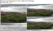 Người phụ nữ bán mỹ phẩm tung tin máy bay rơi ở Nội Bài