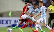 U22 Việt Nam không ghi nổi bàn danh dự trước U20 Argentina