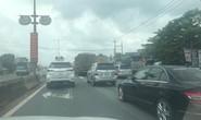 Kẹt xe nghiêm trọng trên cao tốc TP HCM - Long Thành - Dầu Giây