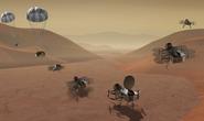NASA tung chuồn chuồn máy lên mặt trăng của sao Thổ