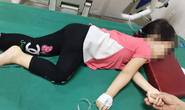 Bé gái suýt chết vì nuốt dây đồng hồ kim loại