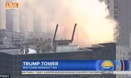 Tòa nhà Trump Tower xảy ra hỏa hoạn