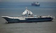 Nhóm tàu sân bay Trung Quốc đi qua eo biển Đài Loan