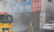 Cháy lớn tại bệnh viện Hàn Quốc, hơn 120 người thương vong