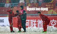 Những hình ảnh lấy nước mắt người hâm mộ của U23 Việt Nam