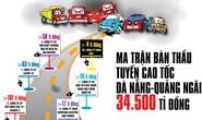 (Infographic) - Ma trận bán thầu tuyến cao tốc Đà Nẵng - Quảng Ngãi