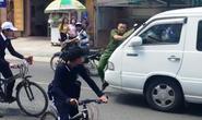 Tài xế húc công an trên phố khi đi vào đường cấm ra trình diện