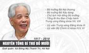 (Infographic) - Những đóng góp to lớn của nguyên Tổng Bí thư Đỗ Mười
