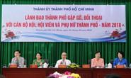 Lãnh đạo TP HCM đối thoại với nữ công nhân vệ sinh