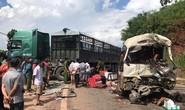 Xe đầu kéo và xe khách 29 chỗ tông nhau, ít nhất 12 người bị thương