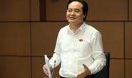 Bộ trưởng Phùng Xuân Nhạ nói gì về việc nhận số phiếu tín nhiệm thấp nhiều nhất?