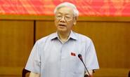 Tổng Bí thư nói lý do Trung ương giới thiệu Tổng Bí thư để QH bầu làm Chủ tịch nước