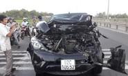 Tai nạn kinh hoàng giữa 2 xe tải, ô tô Mazda BT50 và 2 xe máy